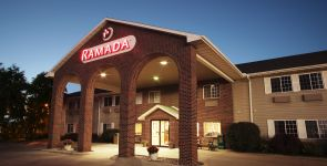Entrance to Ramada of Spirit Lake